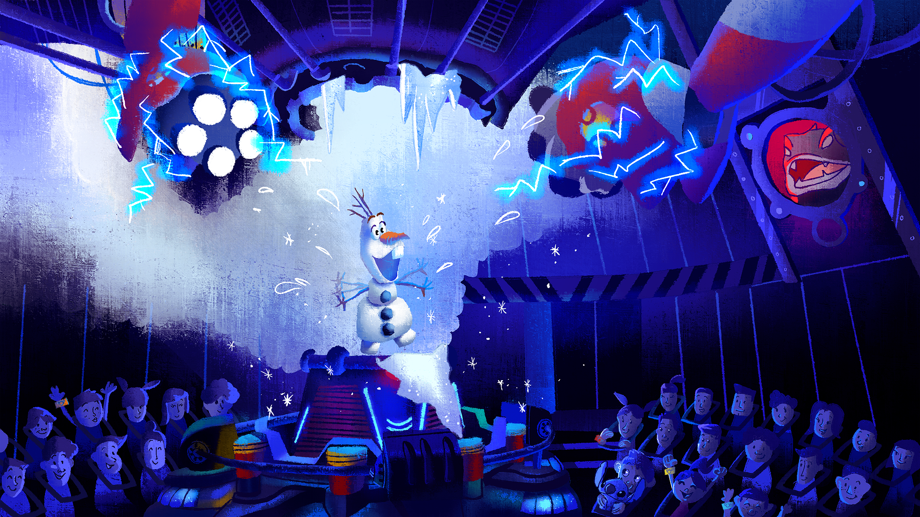 Olaf S Frozen Escape Coming To Magic Kingdom In 2016