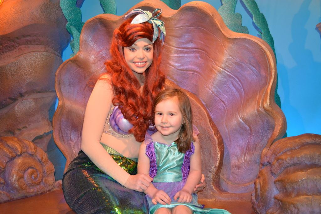 Meet ariel at her grotto magic kingdom 1 6 m4hsunfo