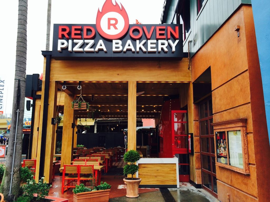 Universal Joint Menu >> Red Oven Pizza Bakery