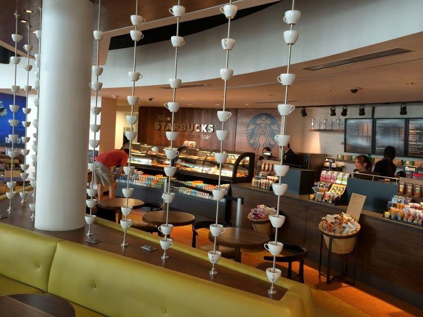 Starbucks Coffee Cabana Bay Beach Resort